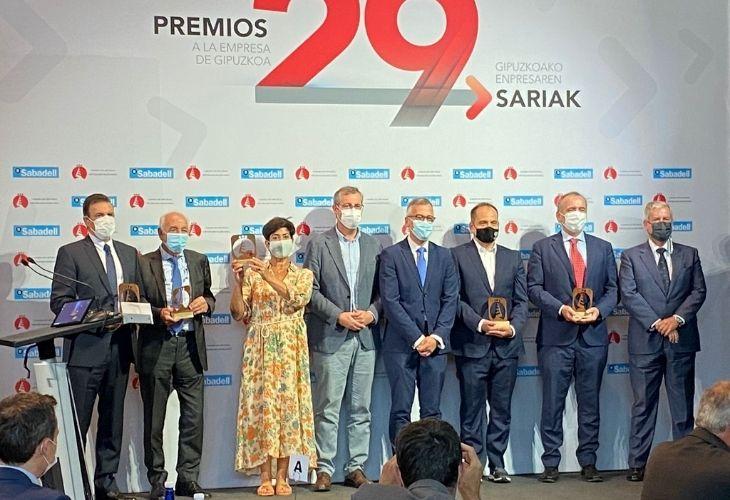 Bexen Medical y Astigararra Kit Line reciben el premio de la Cámara Gipuzkoa-SpyroSoftware